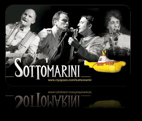 Beatles-concert con I SOTTOMARINI sul palco del MARIANIELLO di Piano di Sorrento