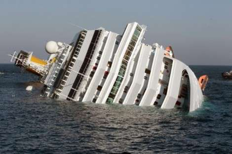 Grave incidente per la nave da crociera Costa Concordia