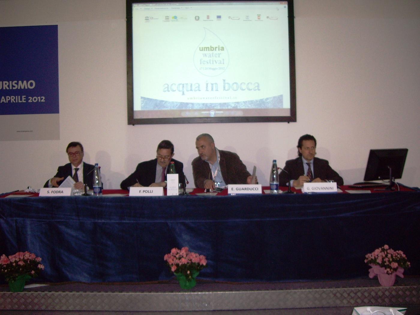 Umbria Water Festival 2012: l'evento presentato alla Borsa Mediterranea del Turismo (BMT)