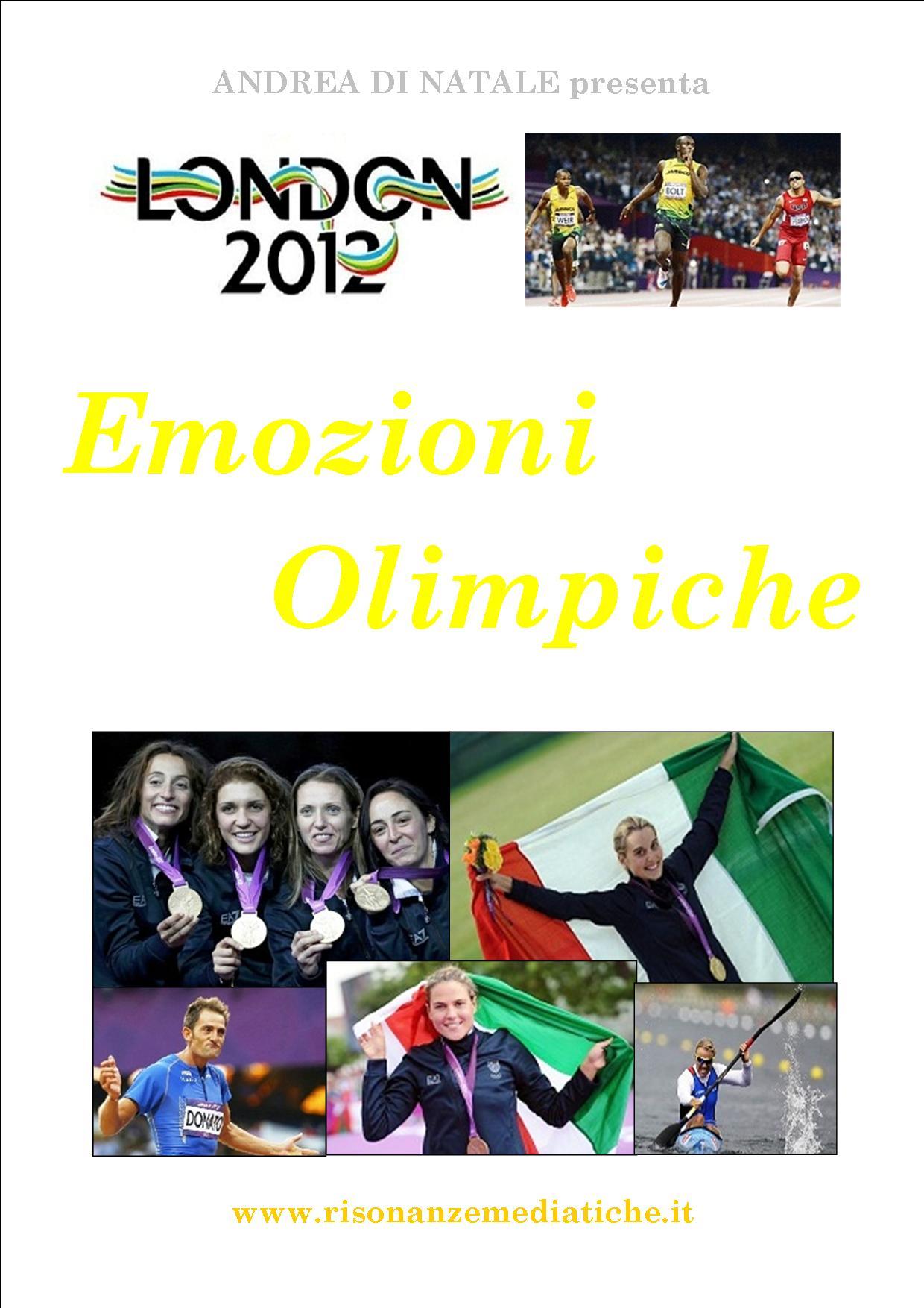 """Libri:  Le """"Emozioni Olimpiche"""" di Andrea Di Natale"""