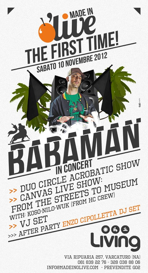 Made in O'Live, Babaman in concerto