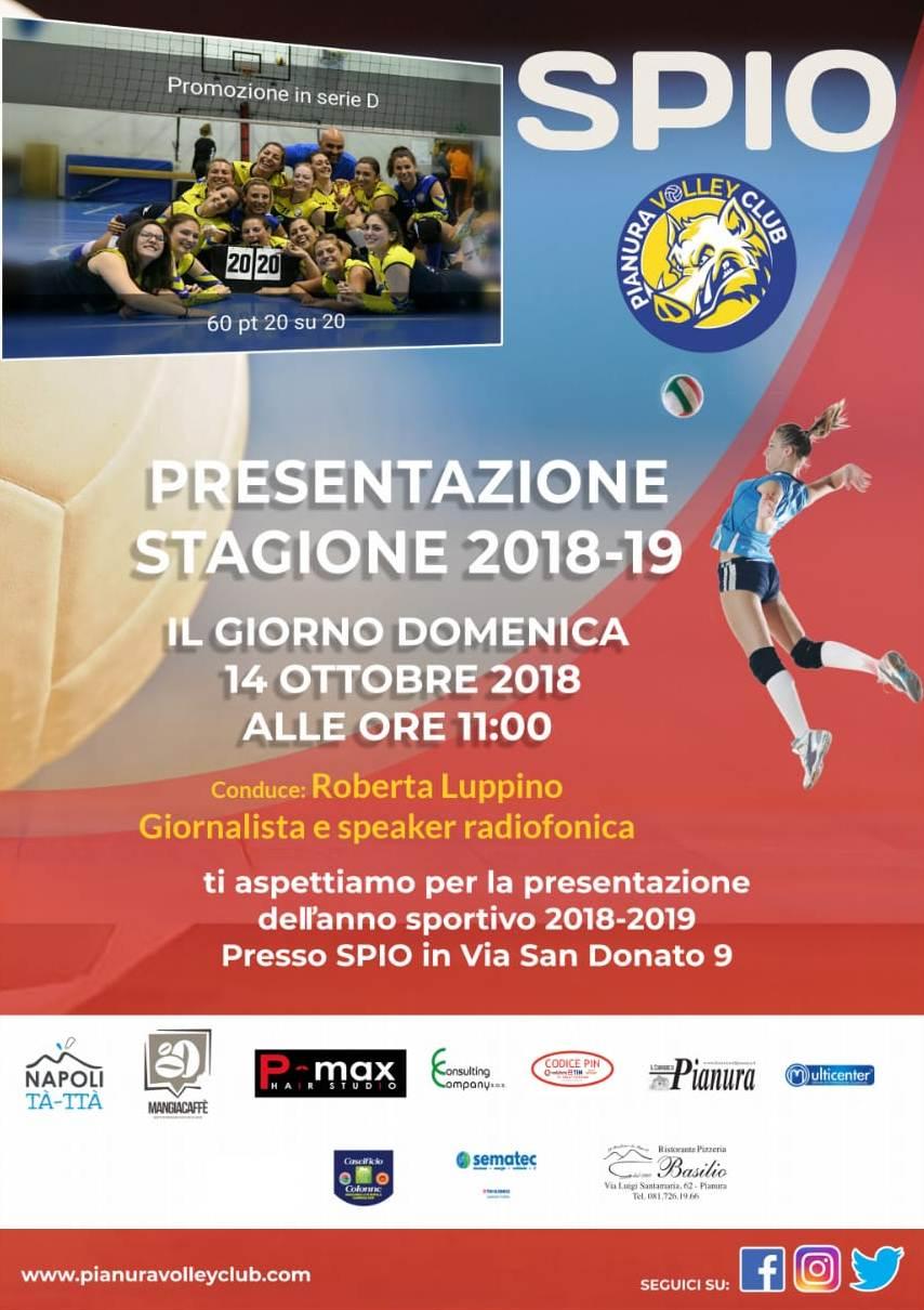 Napoli: Presentazione ufficiale dell'ASD Pianura Volley Club