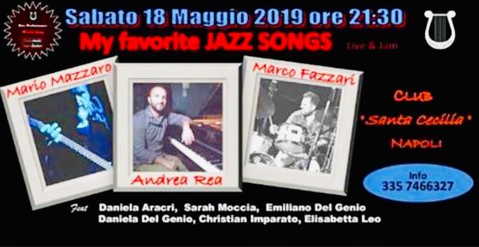 "Sala Santa Cecilia: ""My favorite Jazz songs"""