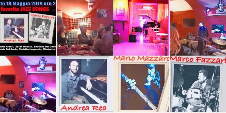 Andrea Rea, Mario Mazzaro e Marco Fazzari: stasera clou al Santa Sofia