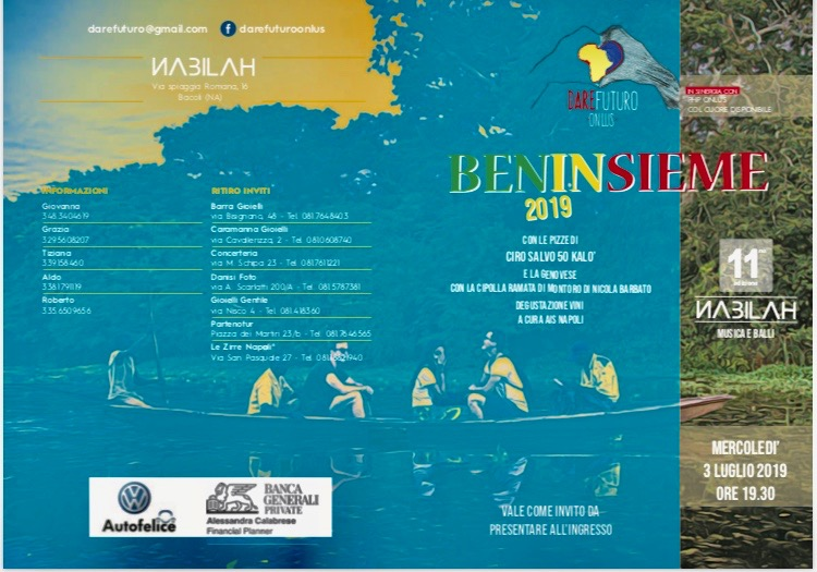"""Beninsieme"" al via l'Estate 2019"