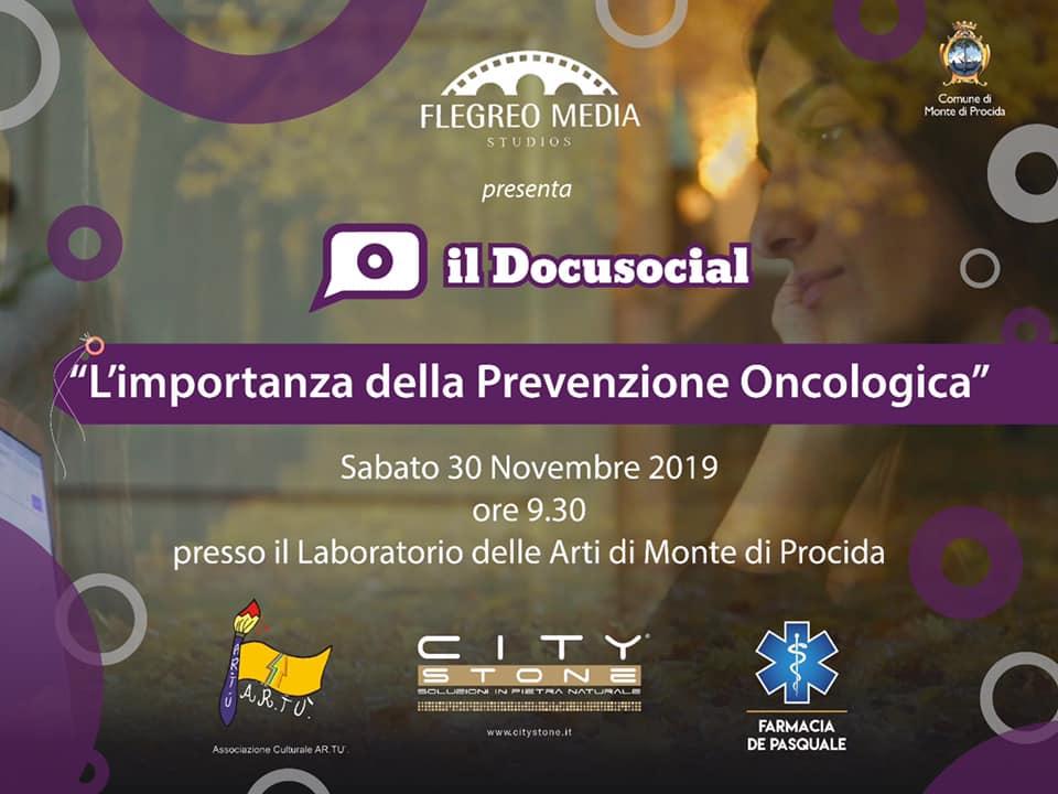 """Monte di Procida (Na) : Domani al """"Laboratorio delle Arti""""  presentazione dei Docusocial di Flegreo Media Studios"""
