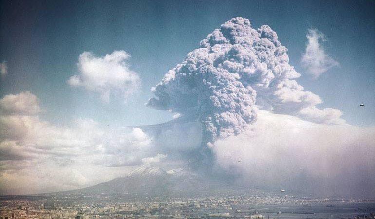 Accadde oggi: 76 anni fa l'ultima eruzione del Vesuvio