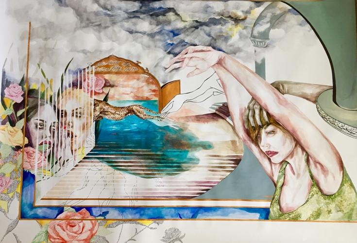"Shazar Gallery presenta l'anteprima della mostra ""Swallow – Kiss – Burn"""
