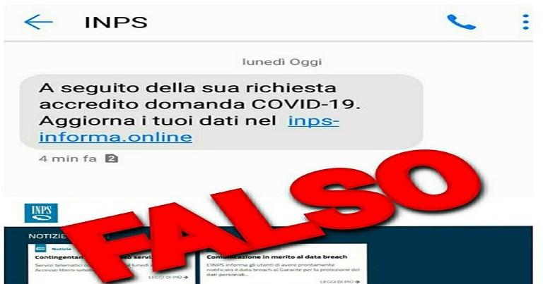 Coronavirus: attenti alle truffe online, falsa email Inps per rubare dati sensibili