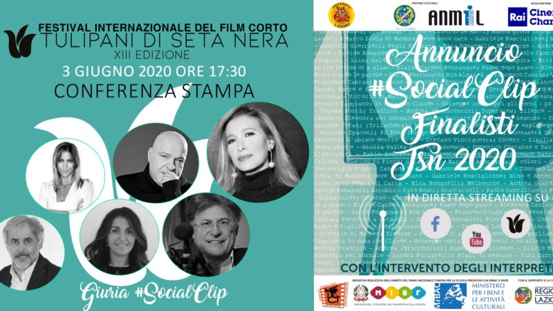 Premio #SocialClip, conferenza stampa il 3 giugno alle ore 17:30 online
