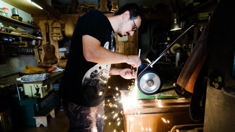 Leonardo Scala, l'artigiano di Praiano