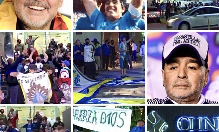Maradona, fans esultanti: riuscito l'intervento al cervello