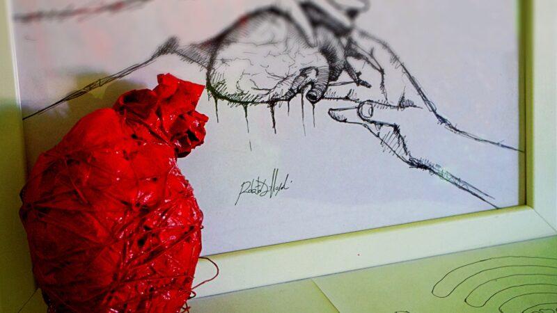 Ritrovare la via del cuore. Passione e tecnologia. La pittura di Roberto Di Napoli.