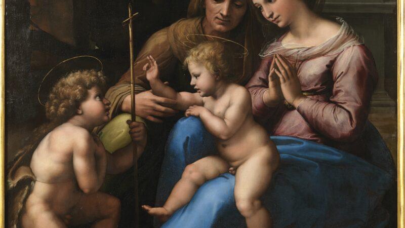 Museo di Capodimonte. Le indagini diagnostiche sui dipinti di Raffaello.