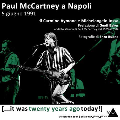 """Il libro """"Paul McCartney a Napoli"""" protagonista della nuova puntata di 'ROCK CITY NIGHTS' su RADIO CITTA' BENEVENTO"""