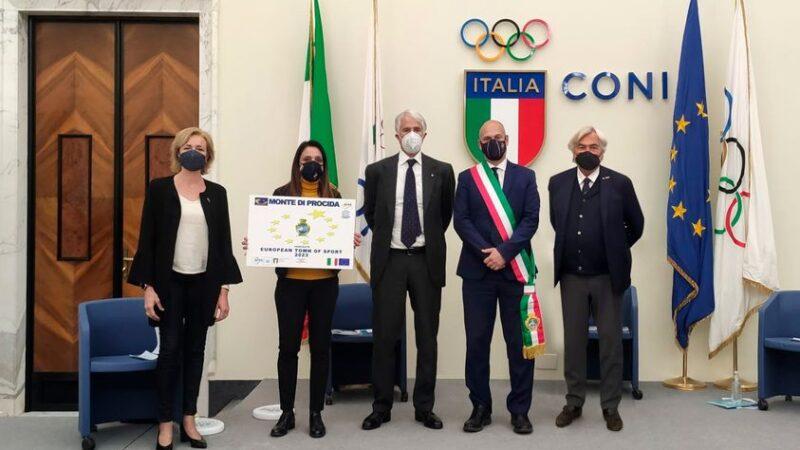 """Napoli: Area flegrea, Monte di Procida si candida a """"Comune Europeo dello Sport 2023"""""""