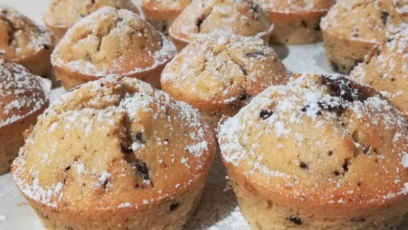 La Ricetta: Muffin Mele e Cioccolato