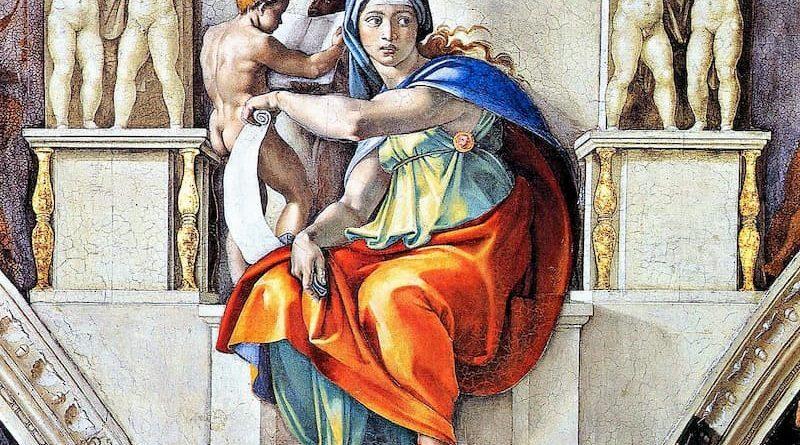 """Storie: La """"Sibilla Cumana"""", giovane vergine che aveva il dono della preveggenza"""