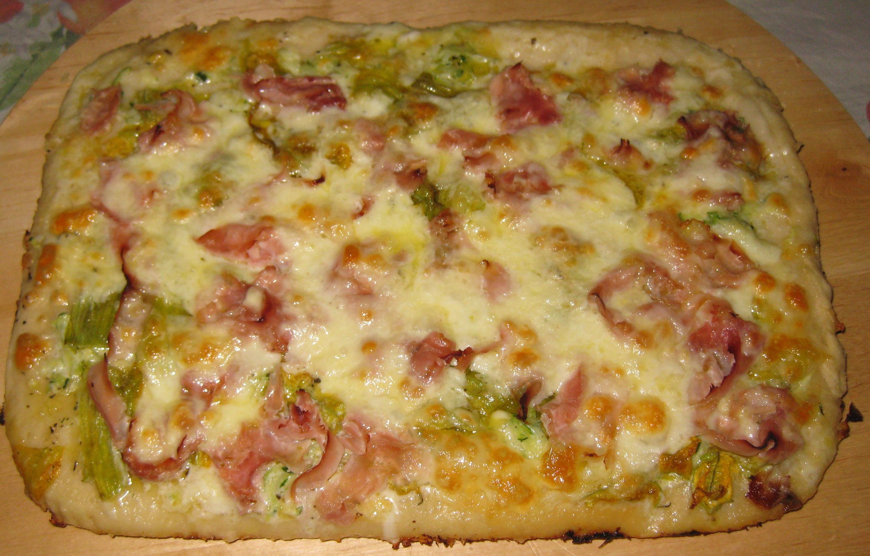 La Ricetta: Pizza di Verdure