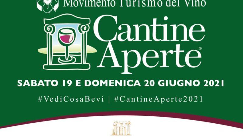 Sabato 19 Giugno e Domenica,  riparte il format #cantineaperte del Movimento Turismo del Vino