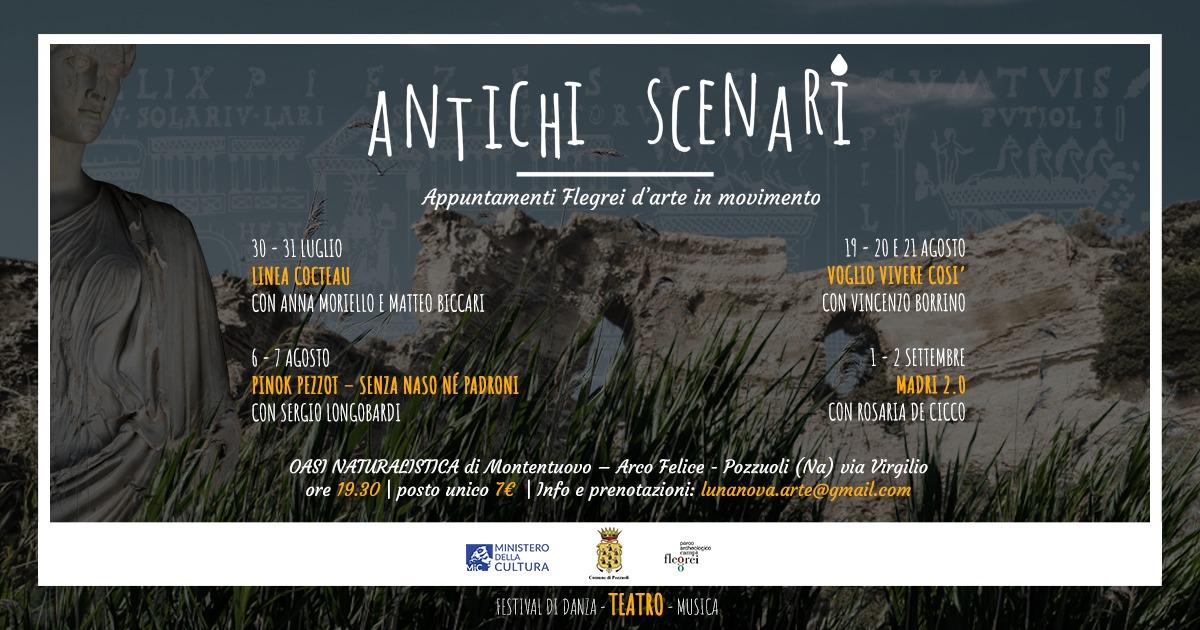 """Area Flegrea: Al via il festival di danza teatro e musica """"Antichi Scenari"""""""