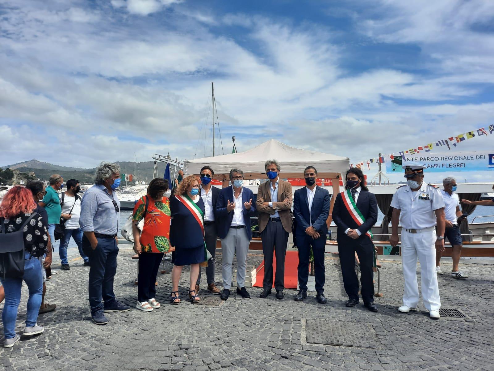 Campi Flegrei: inaugurato il percorso Marittimo nelle Aree Marine Protette dell'Ente Parco Regionale