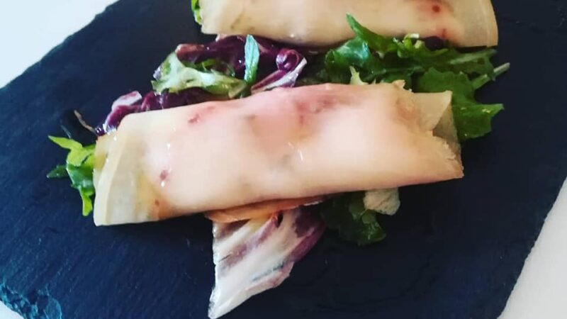 La Ricetta: Involtini di Pesce Spada affumicato con Robiola e Zucchine