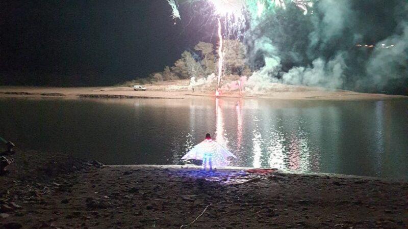 Gallo Matese, grande partecipazione ai due eventi organizzati dall'amministrazione.  Emozioni per la spettacolo di luci sul lago