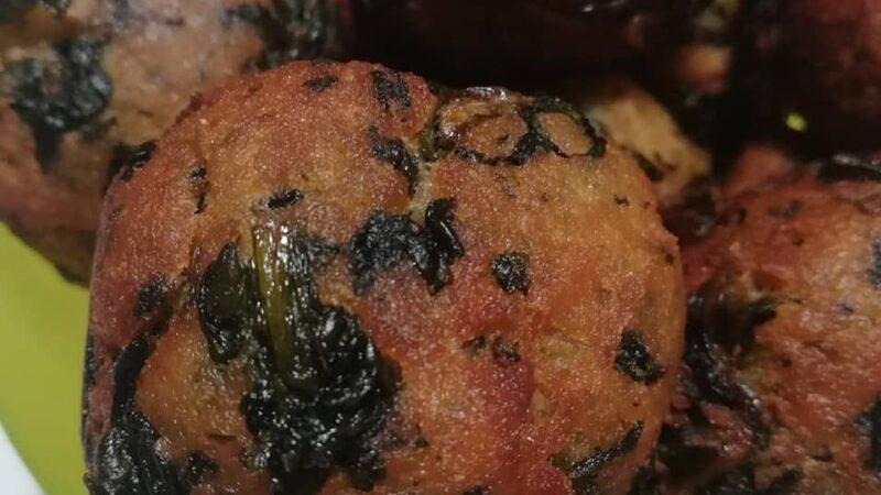 La Ricetta: Polpette di patate e cicoria